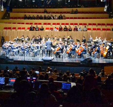 Orquesta sinfónica - Colegio Cedros