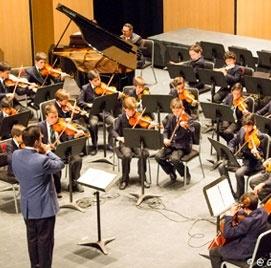 Auditorio en el colegio Del Opus Dei para ninos - Colegio Cedros