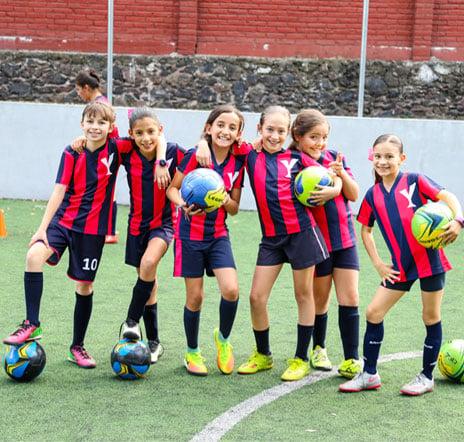 Actividades deportivas - Colegio Yaocalli