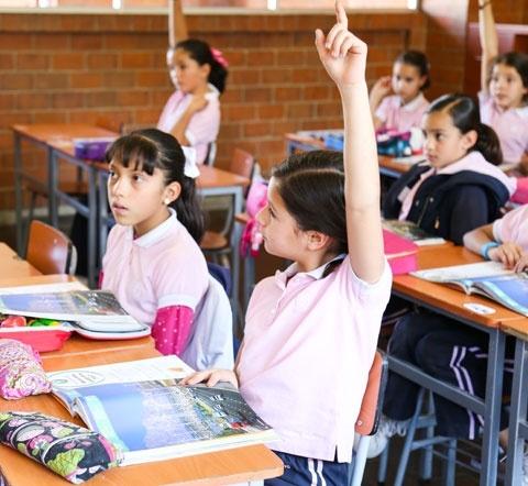 Áreas de aprendizaje en el colegio bilingüe para niñas  Yaocalli