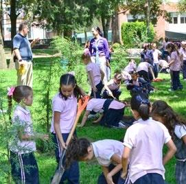 Actividades en bosque en Colegio Del Opus Dei para niñas - Colegio Yaocalli