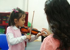 Kinder-colonia-del-valle-violin-Cedros