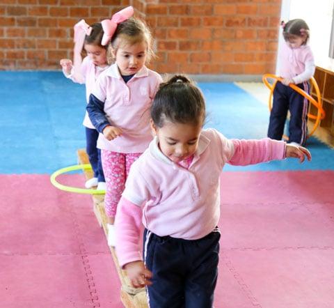 Programa neuromotor - Modelo educativo - Kinder Yaocalli